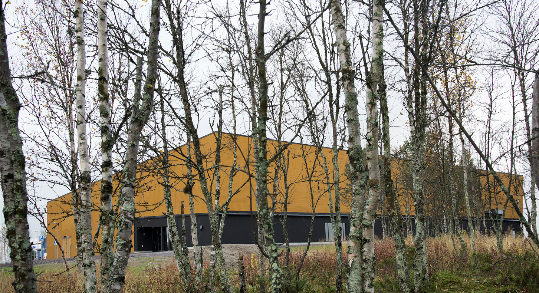Tarfalahallen i Kiruna