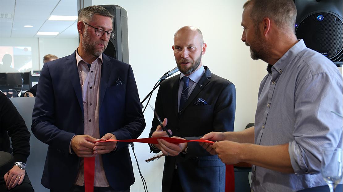 Nya kontoret i Boden invigt