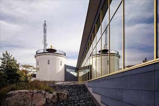 Norrtälje badhus blev en av fem finalister till årets bygge 2015